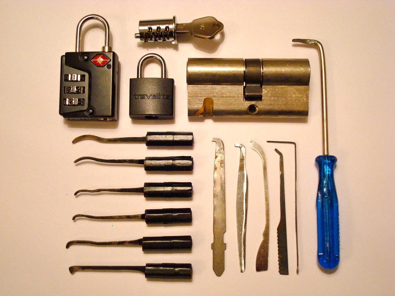 Berühmt Geheim: Lockpicking Werkzeug für Dummies | Elektroschock BE44